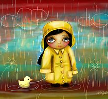 a walk in the rain by © Karin (Cassidy) Taylor
