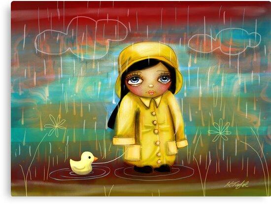 a walk in the rain by © Karin Taylor