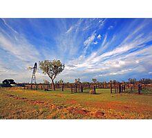 Cattle Yard Photographic Print