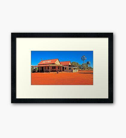 Outback Pub Framed Print