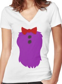 Bonnie Bunny Women's Fitted V-Neck T-Shirt