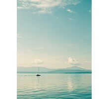 Lone Sailor Photographic Print