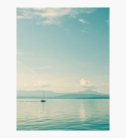Lone Sailor Photographic Print