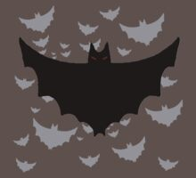 Flying Hoard of Evil Bats by Sarah Countiss