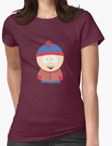 Stan from South Park Womens Fitted T-Shirt