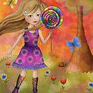 Lollipop Rollerskating by Kristy Spring-Brown
