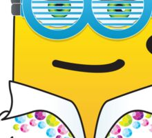 Disco minion Sticker
