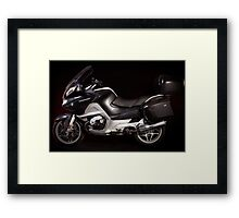 BMW, R1200RT Framed Print