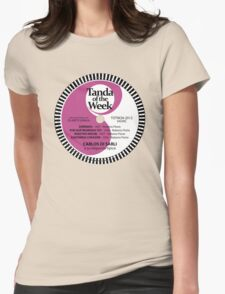 TOTW24/2012 - Di Sarli / Florio - TK - Purple Womens Fitted T-Shirt