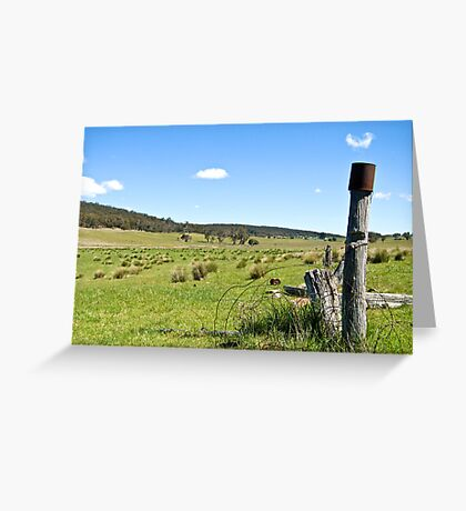 Jerangle Countryside Greeting Card