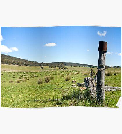 Jerangle Countryside Poster