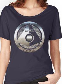 ONI - Halo Metallic Logo Women's Relaxed Fit T-Shirt