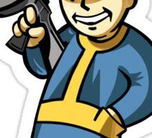 Fallout Gunner Sticker