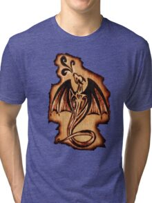 Dragon Flame Tri-blend T-Shirt