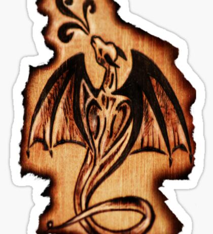 Dragon Flame Sticker