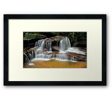 Falls of the Wilderness Framed Print