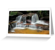 Falls of the Wilderness Greeting Card