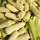 Lots of little corns - at the market by Marjolein Katsma