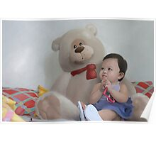 Baby and Bear Poster