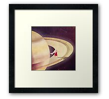 Saturn Child Framed Print