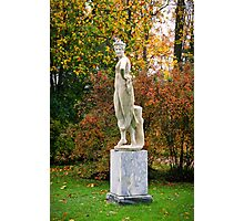 Statue in the park Photographic Print