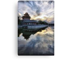 Forbidden City Sunset Canvas Print