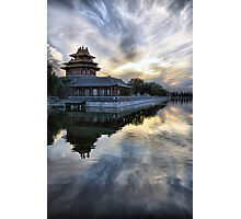 Forbidden City Sunset Photographic Print