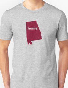 Alabama. Home. Distressed T-Shirt