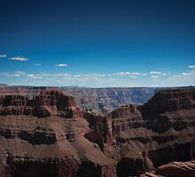 Eagle Point - The Grand Canyon Arizona by DavidONeill