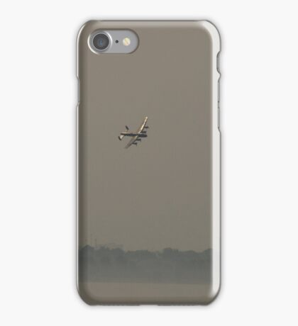 Lancaster over Toronto. iPhone Case/Skin