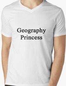 Geography Princess  Mens V-Neck T-Shirt