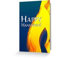 happy hanukkah light Greeting Card