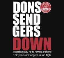 Dons Send Rangers Down by Sarah Rose