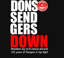 Dons Send Rangers Down Unisex T-Shirt