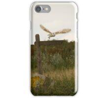 Barn owl on location. iPhone Case/Skin