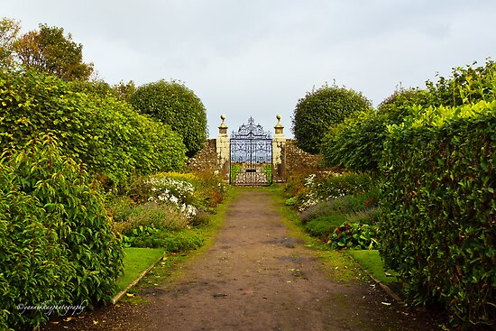 Gate to the North Sea - Dunrobin Castle (Golspie, Sutherland, Scotland) by Yannik Hay