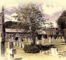 Lydford Church by Country  Pursuits