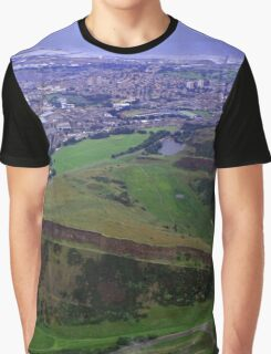 Arthur's Seat and Salisbury Crags Graphic T-Shirt