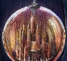 Doctor Who Gallifrey Snow Globe  Sticker