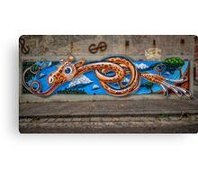 Knotted Neck Canvas Print