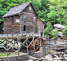 Glade Creek Grist Mill by Monnie Ryan