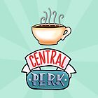 Central Perk [Friends Iphone-Case] by Mhaddie