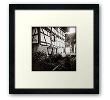 { timeless village } Framed Print