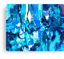 Blue Overtone Canvas Print