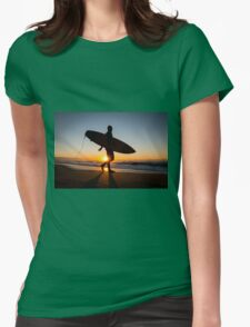 Don't Let The Sun Go Down On Me Womens Fitted T-Shirt