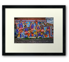 Harlem Globe Trotters Framed Print
