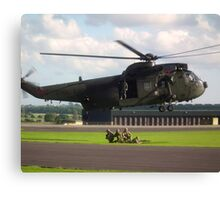Sea King HC4(ZD627) Com Fl Canvas Print