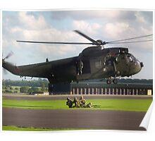 Sea King HC4(ZD627) Com Fl Poster