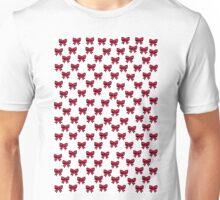 Sketch Emojis - Pink Bows Unisex T-Shirt