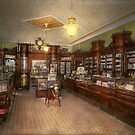 Pharmacy - Weller's Pharmacy 1915 by Mike  Savad